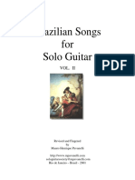 BOOK Brazilian Songs for Solo Guitar (Por Mauro Pavanelli)Vol-2