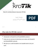 Mtcna Training Materials (2013-01)