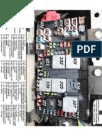F350N- Fuse Box Diagram