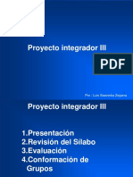 PROYECTO INTEGRADOR III