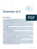 Overview of C