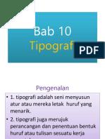 Bab 10 - Tipografi