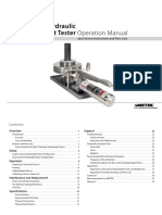 Dead Weight Tester Manual T-150