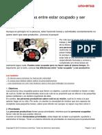 6 Diferencias Ocupado Productivo