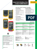 705-715 Calibrators Datasheet