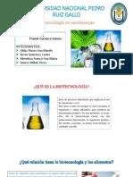 Biotecnologia en Lambayeque