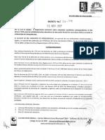 Decreto 229 Reglamento Territorial Académico 2018