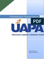 Tarea II Orientacion Universitaria