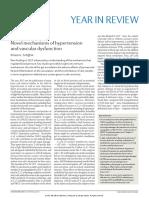 2017 Novel Mechanisms of Hypertension and Vascular Dysfunction