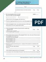 Self and Peer Editing Worksheet Essay Writing_1