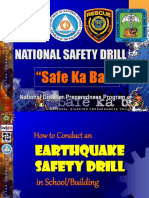 PDRRMC_Earthquake Drill for Schools