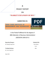 HCL Project Report