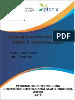Format Makalah PTPN