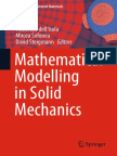 (Advanced Structured Materials 69) Francesco Dell'Isola, Mircea Sofonea, David Steigmann (Eds.)-Mathematical Modelling in Solid Mecha