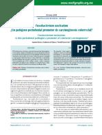 Fusobacterium Nucleatum Cancer Adm 2016