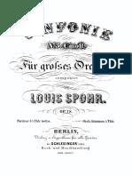Spohr Symphony no 3 op 78