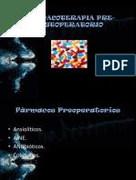 Farmacoterapia Pre Postoperatorio