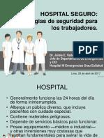 Hospital Seguro. Estrategias de Seguridad Para Los Trabajadores .