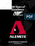 2018 Alemite Product Catalog