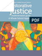 standard 7b - oakland restorative justice implementation guide