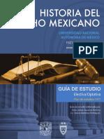 Historia Del Derecho Mexicano 1 Semestre (temario)