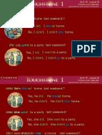 Past Simple Presentation