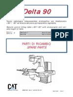 CAT Delta 90 X-Ray - Spare Parts