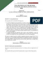 Quasi Judicial Provisions of RA10606
