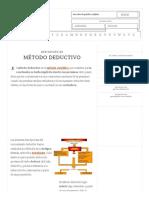 Definición de Método Deductivo - Qué Es, Significado y Concepto