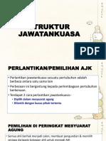 STRUKTUR JAWATANKUASA