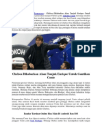 Chelsea Dikabarkan Akan Tunjuk Enrique Untuk Gantikan Conte