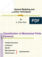 11-Finite Element Modeling and Solution Technique