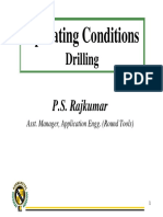 5.3 Operating Conditions Drilling1