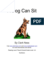A Dog Can Sit 2013