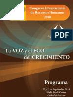 Congreso Internacional de Recursos Humanos 2010