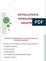 Air Pollution in Petrochemical