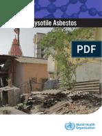 Chrysotile Asbestos Summary