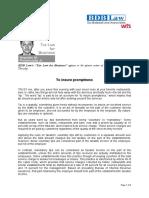 381. to Ensure Promptness RMP 2.14.13 (1)