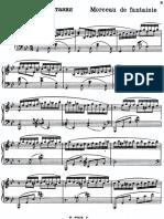 Rachmaninoff Peça Fantasia Op Post
