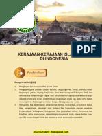Bab 4 Kerajaan-Kerajaan Islam Awal Di Indonesia (1)