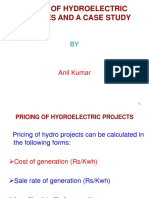 Tariff of Hydro Projects