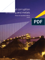 Fraud and Corruption in Mining and Metals 2010