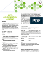 12a Anticondensation Coating Product Guide June 09