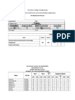 CO Attainment Computation -  Electronic Circuit 115-19 - Copy.doc