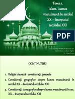 Islam. Lumea Musulmană În Secolul XX