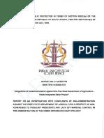 Vrede Report