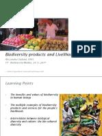 Biodiversity and Livelihoods Giuliani 2017