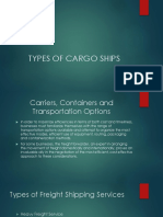 Types of Vessel