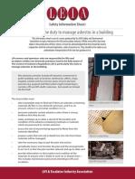 Asbestos Safety Notice 1502