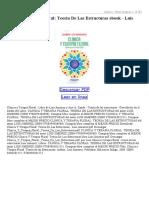 Clinica Y Terapia Floral Teoria de Las Estructuras